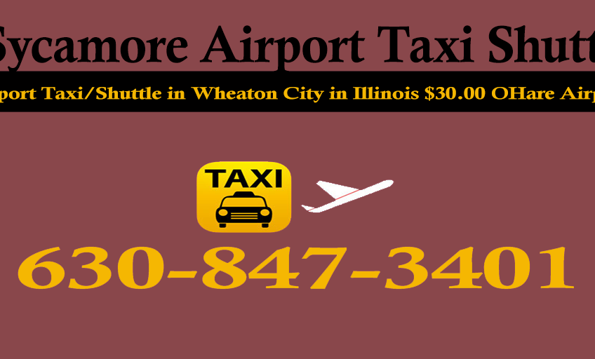 Taxi to/from from O'Hare to Sycamore Illinois