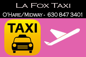 La Fox Taxi Service To/From O'Hare/Midway Airport