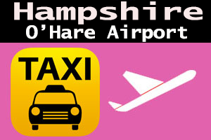 Taxi To/From O'Hare from Hampshire Taxi