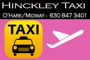 Taxi To/From O'Hare from Hinckley Taxi