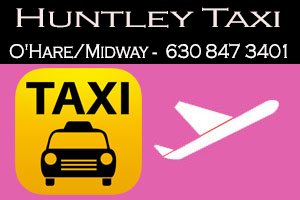 Taxi To/From O'Hare from HuntleyTaxi