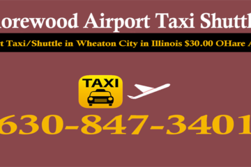 Taxi To/From From O'Hare to Shorewood IL Illinois