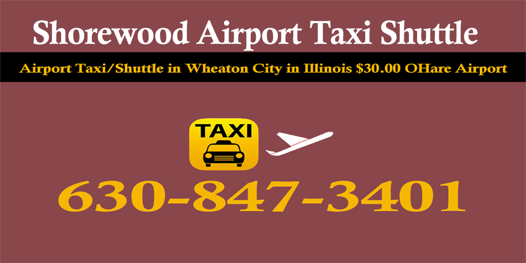 Taxi To/From from Midway to Shorewood Taxi Airport Starting $60.00