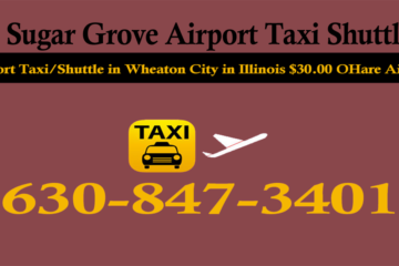 Taxi To/From From O'Hare to Sugar Grove IL Illinois