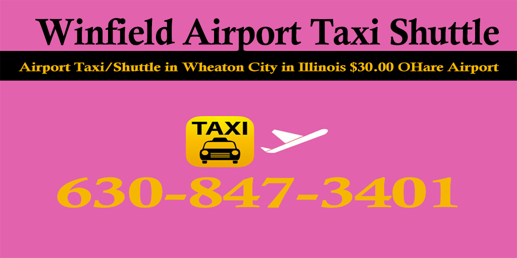 Winfield Taxi To/From From O'Hare Airport